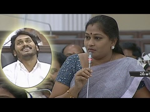 YS Jagan Laughs Over MLA Anitha Speech @ AP Assembly Sessions - NTV