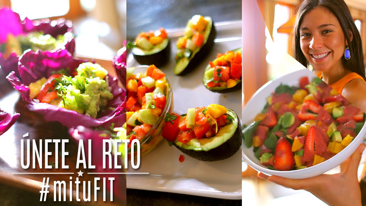 3 comidas saludables mitufit con rawvana youtube for Resetas para comidas