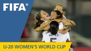 Great goals as USA win battle of champions