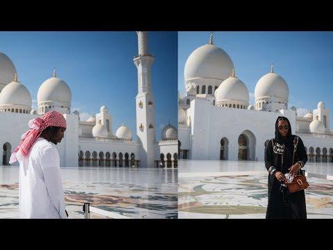DUBAI VLOG PT.2 | TRIP TO ABU DHABI GRAND MOSQUE