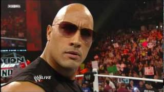 WWE - The Rock Returns To Monday Night Raw 2-14-11 - Part 1/2