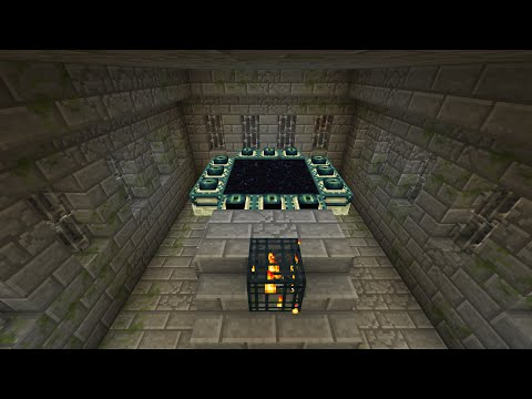 Minecraft: Locate the Stronghold using one eye of ender