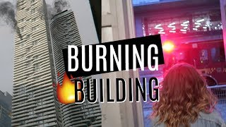Gambar cover our AIRBNB was on FIRE! | Evacuating a 70-Story Building