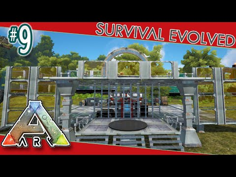 Modded ARK Survival #9 - Base Work & ARK Advance Mod