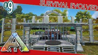 Modded ARK Survival #9 - Base Work & ARK Advance Mod