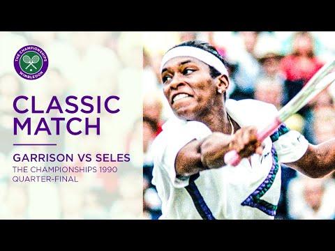 Monica Seles Vs Zina Garrison Wimbledon 1990 QF