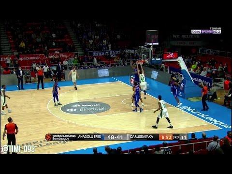 Ante Zizic Highlights vs Anadolu Efes (16 pts, 18 reb)