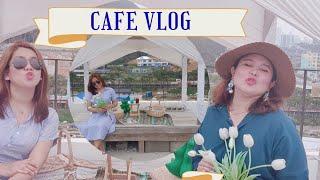 Cafe Vlog#Cafe Roof Top#Busan Travel#Korea Filipino Blog#Cheongsapo 청사포 Haeundae