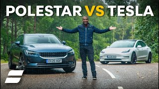 Polestar 2 Vs Tesla Model 3: Electric Car SHOWDOWN | 4K