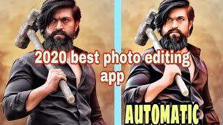 automatic photo editing app.