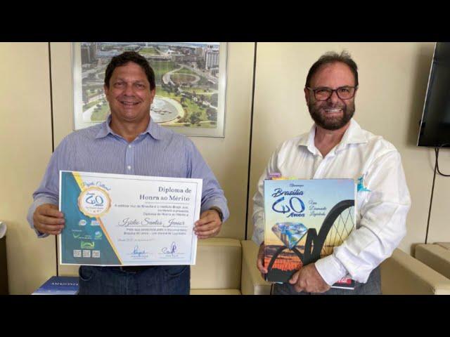 Entrevista com IZIDIO SANTOS JUNIOR - Presidente da Terracap