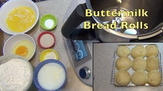 Super Soft Buttermilk Bread Rolls & Bagettes, cheekyricho cooking Thermomix Video recipe. ep.1,203
