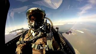 14th Fighter Squadron Epic F-16 GoPro Video