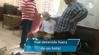 La captura del probable homicida de la joven Jessica González se realizó a las 4:30 de la tarde de este miércoles sobre la calle Morelos, de la colonia Barra de Navidad
