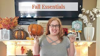 Fall Essentials | Decor, Beauty and More