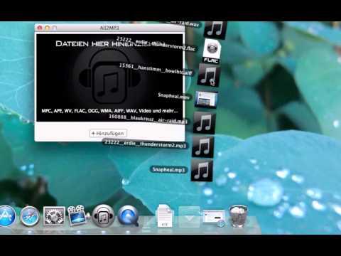 ALL2MP3 - Audio und Videodateien schnell nach MP3 konvertieren