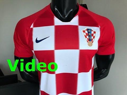 181dc2eb2cc 2018 World cup Croatia home fans verison soccer jersey antonio wuyang