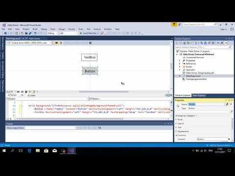 Cara Menggunakan Visual Basic 2017