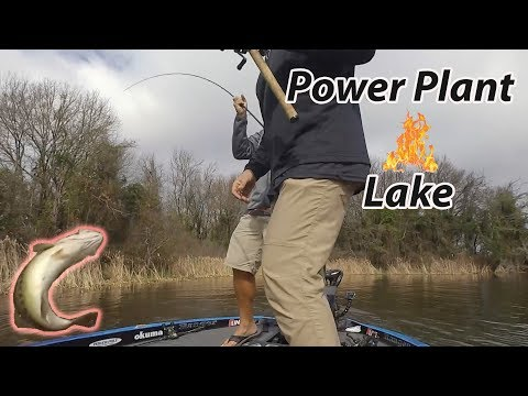 Fishing a Power Plant Lake - Coming in HOT! SMC 13:12