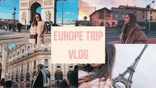 Europe Trip | Nabila Gardena Vlog
