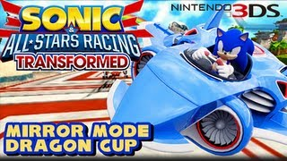 Sonic & All Stars Racing Transformed 3DS - Grand Prix - Dragon Cup (Mirror Mode)
