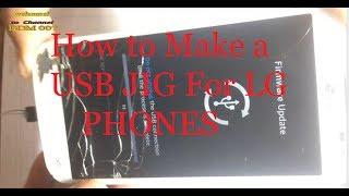 How To make LG-Andriod Phones Donload Mode USB JIG  | Download Mode USB JIG for LG