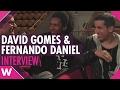 Capture de la vidéo David Gomes And Fernando Daniel - Festival Da Canção 2017 (Interview)