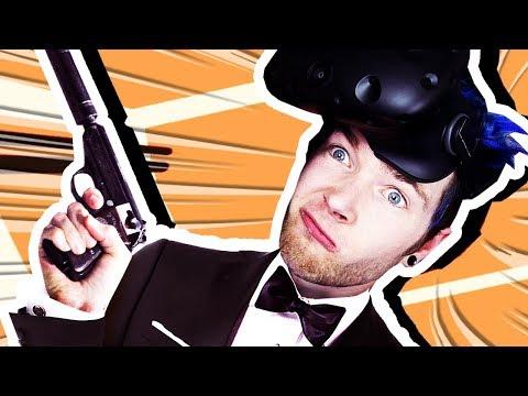 SECRET AGENT DANTDM!!! (Virtual Reality)