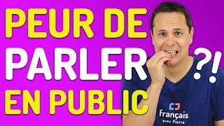 Comment parler en public sans stress ? | Prise de parole en français