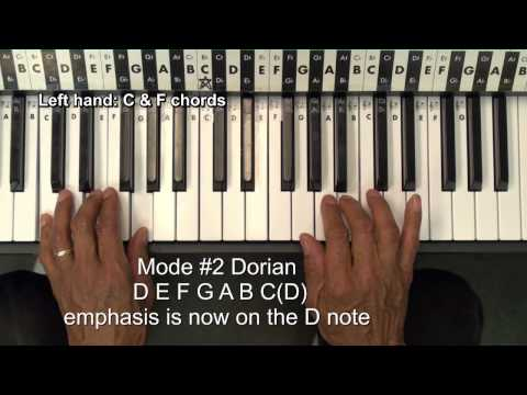 The 7 Modes Of The Major Scale Explained Tutorial Lesson EricBlackmonMusicHD
