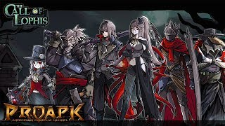 Dark Dungeon Survival - Lophis Fate Card Rougelike Android Gameplay