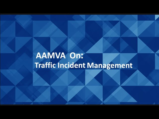 MOVE Spring 2020 - Traffic Incident Management