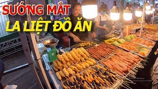 Ngập tràn ĐỒ ĂN HÈ PHỐ STREET FOOD giá rẻ bình dân - Hội chợ HELLO WEEKEND QUẬN 1I cuộc sống sài gòn