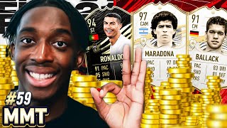 WE BOUGHT PRIME MARADONA! AND SIF CR7! 7 MILLION COINS SPENT!💲💲🤑  S2- MMT #59