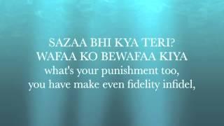 Yeh Jism Hai To Kya Jism 2 Lyrics With English Translation Ali Azmat