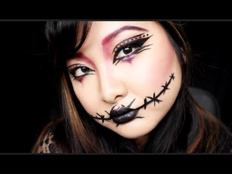 last minute easy halloween makeup tutorial  fairy witch