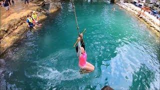 Vang Vieng Trip in Blue lagoon ( Vientiane Province ) - Vang Vieng Laos travel