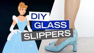 Cinderella Inspired DIY Shoes | Disney Style
