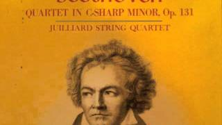 Beethoven String Quartet No.14 in C-sharp minor, Op 131 (1st Movement)