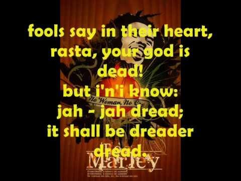 Bob Marley Jah Live Lyrics