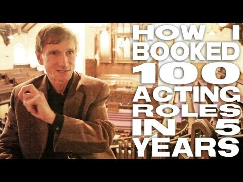 How I Booked 100 Acting Roles In 5 Years by Bill Oberst Jr.