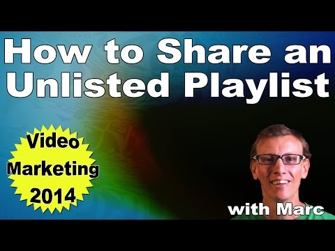 How To Share Unlisted Playlist