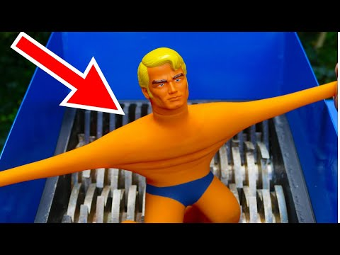 Thumbnail: SHREDDING STRETCH ARMSTRONG TOY! AWESOME VIDEO!