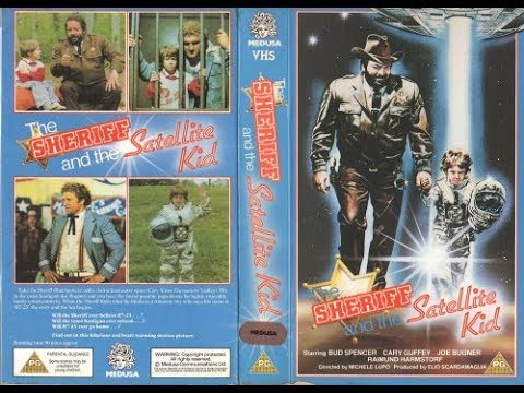Bud Spencer - The Sheriff And The Satellite Kid 1979 Met ondertiteling.
