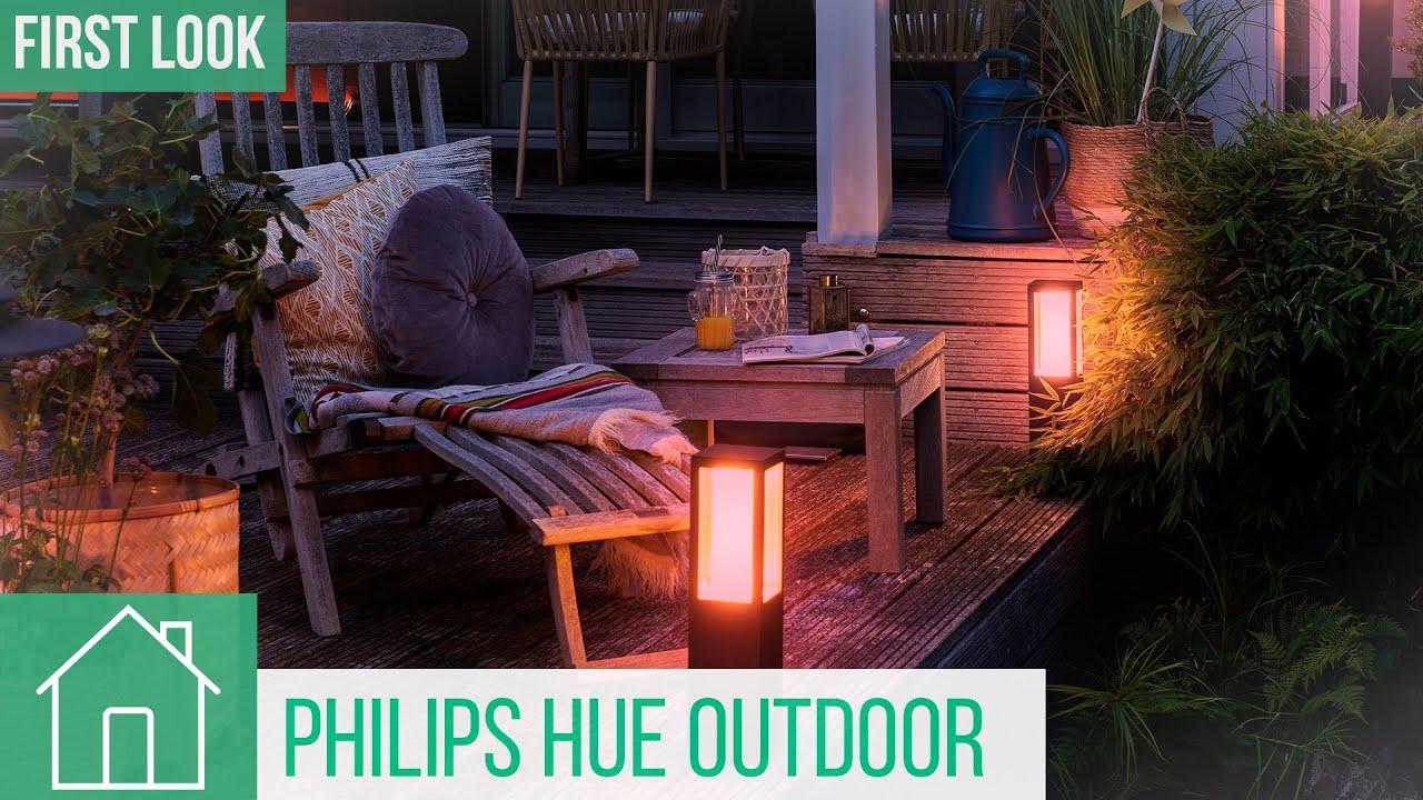 Philips Hue Outdoor Lampen Smarte Beleuchtung Für Balkon Terrasse