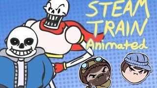 steam train game grumps animated undertale