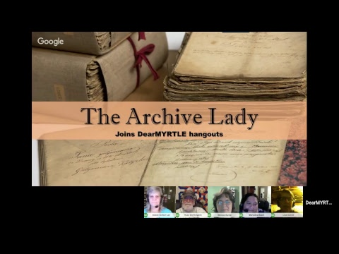 The Archive Lady Oct 2017