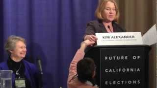 Future of California Elections Conference Panel 2 - Election Reforms