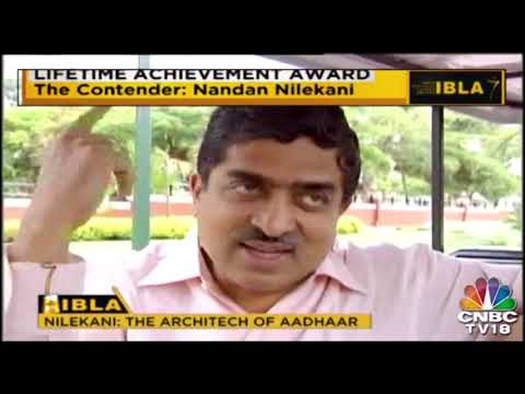 Life Time Achievement award Nominee Nandan Nilekani(Architech Of AADHAAR)