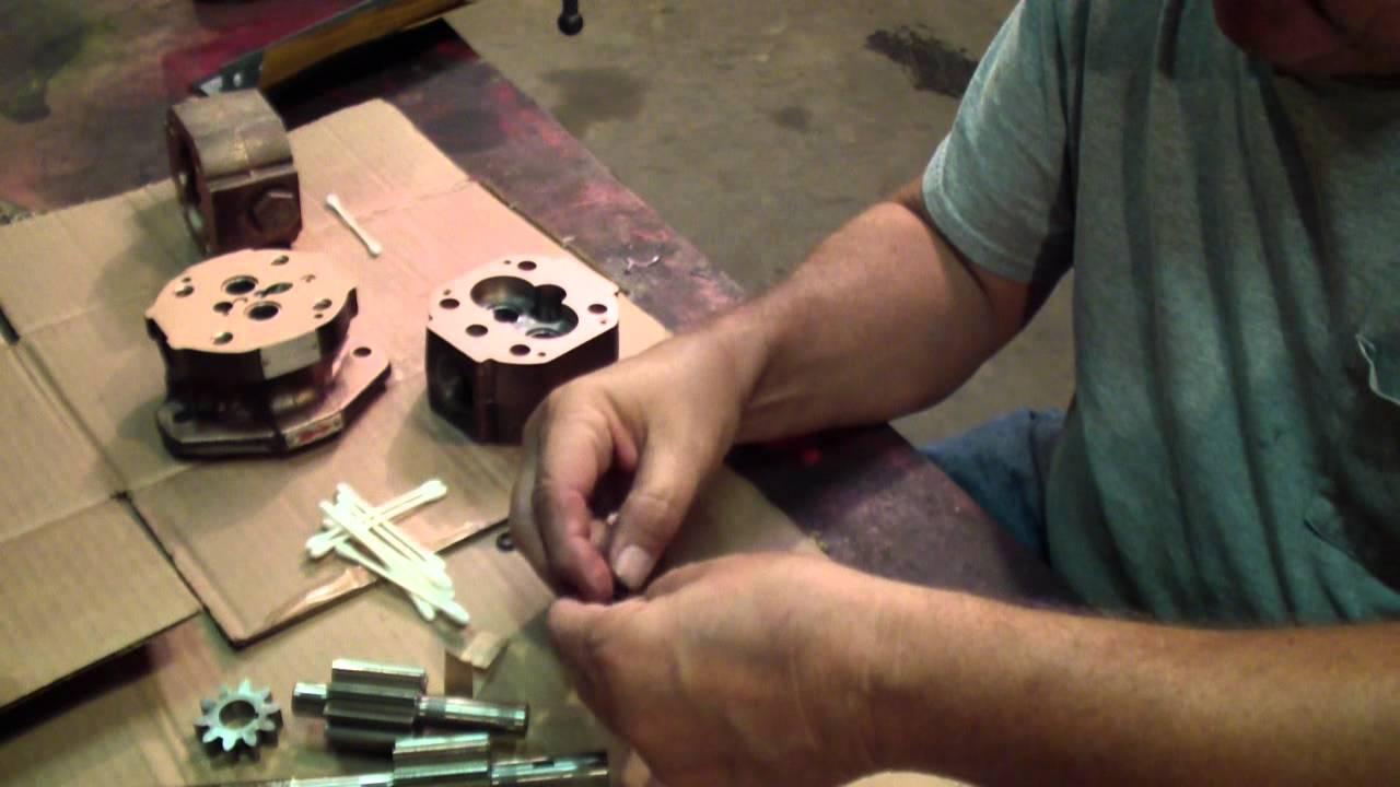 Rebuilding Northern Concentric Haldex Hydraulic 2 Stage Pump Youtube Barnes Wiring Diagram